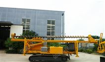 工程用8米履带长螺旋打桩机打光伏桩机械