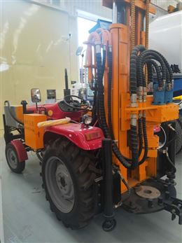 工程用拖拉機氣動鉆機打井機械
