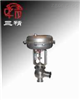 ZTRS(ZRS-10K)气动不锈钢调节阀